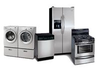 We service all major appliances. This includes dishwashers, washers, dryers, refrigerators, and stoves